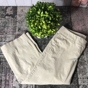 Halogen classic Chino Style Cropped Pant